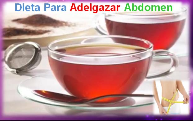 dieta para adelgazar abdomen