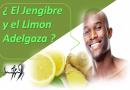 Cómo Adelgazar rápido Hasta 3 Kilos por semana con jengibre y limón
